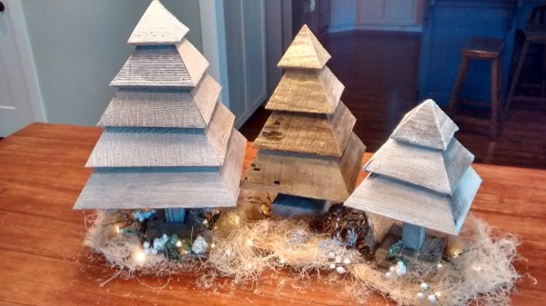 Krista Fuhriman Remodelaholic 3d Christmas Trees - Make your own DIY Christmas Decor Ideas featured on Remodelaholic.com