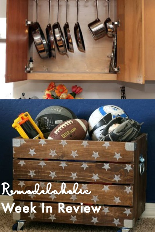 Installing An In Cupboard Pot Rack + 50 Smart Toy Storage Solutions 10 Simple Home Organization Tips