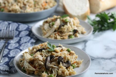 Chicken And Rice Recipe In The Instant Pot #remodelaholic (6)